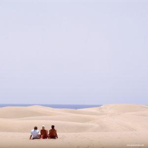 El ecosistema dunar de Maspalomas es uno de los lugares más emblemáticos de Gran Canaria