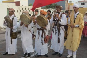 El grupo de Marruecos durante el recorrido