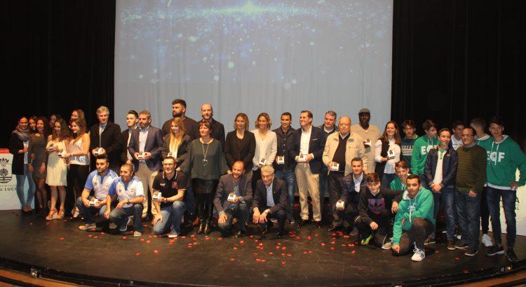 2544bf9b3 Santa Lucía reconoce a sus deportistas y clubs más destacados de 2016 en  una gala en el Víctor Jara - Digital Faro Canarias