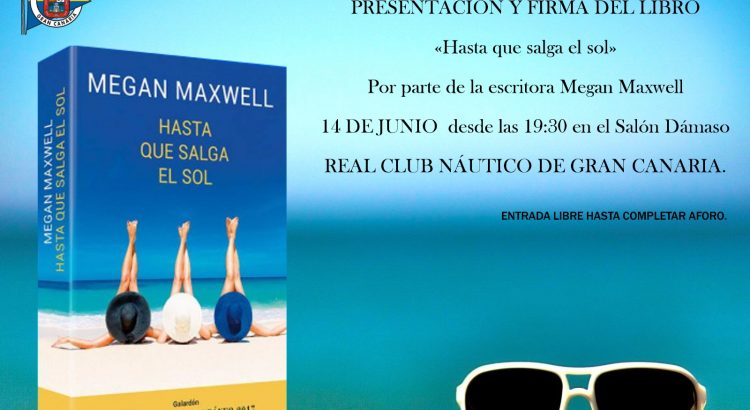 LA EXITOSA ESCRITORA MEGAN MAXWELL, ESTARÁ EN EL RCNGC