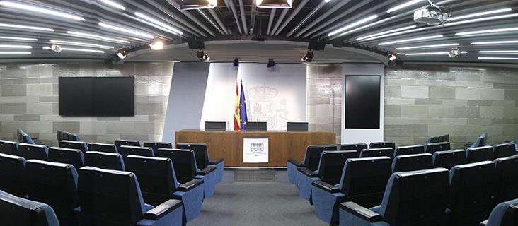 [Gobierno] Rueda de Prensa desde la AP7 en Sagunto, tras la visita de Ana Pastor a la zona Sala-prensa-moncloa